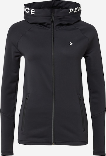 Sportinė striukė iš PEAK PERFORMANCE , spalva - juoda / balta, Prekių apžvalga
