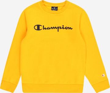 Bluză de molton de la Champion Authentic Athletic Apparel pe galben