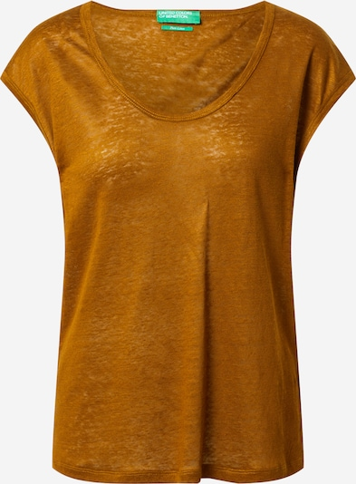 UNITED COLORS OF BENETTON T-shirt en cognac, Vue avec produit