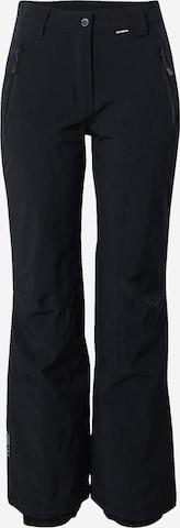 juoda ICEPEAK Laisvalaikio kelnės 'Freyung'