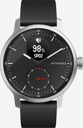 Withings Uhr in grau / schwarz, Produktansicht