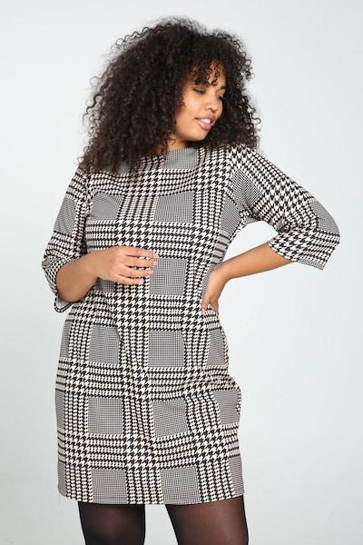 Paprika Kleid in schwarz / weiß, Modelansicht