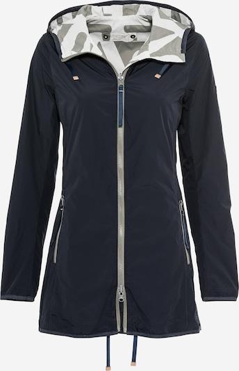 CAMEL ACTIVE Jacke in dunkelblau / grau / weiß, Produktansicht