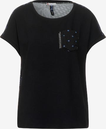 STREET ONE T-Shirt in Schwarz