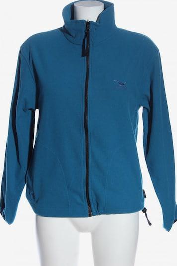SALEWA Fleecepullover in S in blau, Produktansicht
