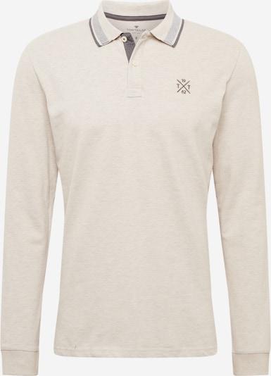 TOM TAILOR Poloshirt in beige, Produktansicht