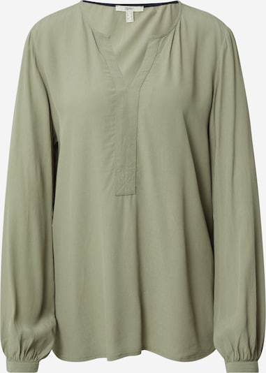 ESPRIT Blus 'Marocain' i khaki, Produktvy