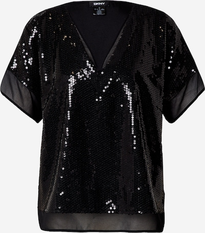 DKNY Blouse in de kleur Zwart, Productweergave