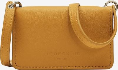 Liebeskind Berlin Schoudertas in de kleur Goudgeel, Productweergave