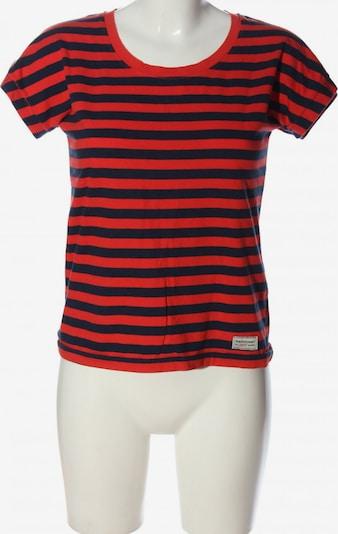 PEAK PERFORMANCE Ringelshirt in XS in blau / rot, Produktansicht