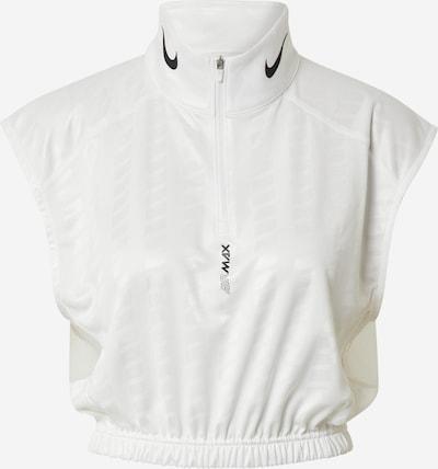 Nike Sportswear Tričko - čierna / biela: Pohľad spredu