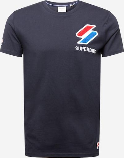 Maglietta Superdry di colore marino / rosso, Visualizzazione prodotti
