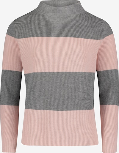 Betty Barclay Pullover in grau / rosa, Produktansicht