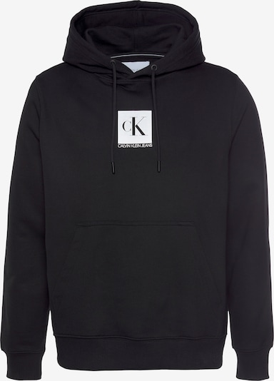 Felpa Calvin Klein di colore nero / bianco, Visualizzazione prodotti