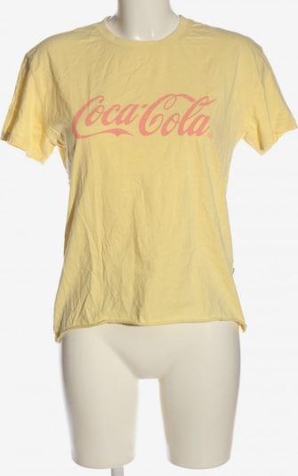 America Today T-Shirt in S in pastellgelb / pink, Produktansicht