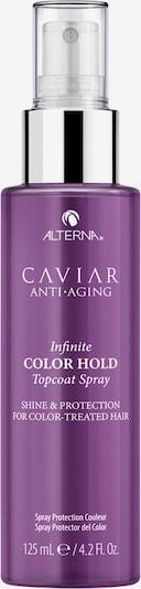 Alterna Haarspray 'Infinite Color Hold Topcoat Shine' in dunkellila / weiß, Produktansicht