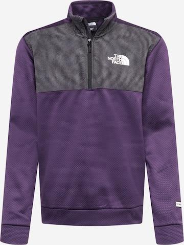 THE NORTH FACE Sportsweatshirt - fialová