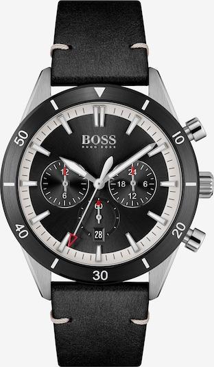 BOSS Casual Uhr in schwarz / silber, Produktansicht