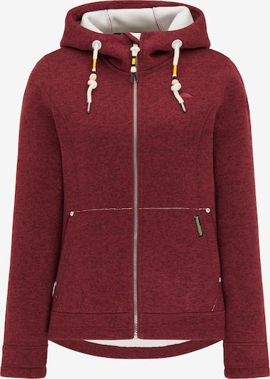 Schmuddelwedda Bluza polarowa w kolorze pastelowa czerwień / ciemnoczerwony / białym, Podgląd produktu