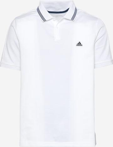 Tricou funcțional 'Go-To' de la adidas Golf pe alb