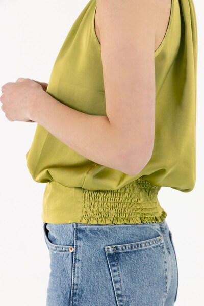 Zibi London Bluse 'Bali' in oliv, Produktansicht
