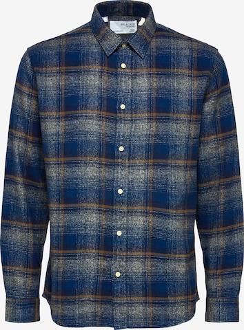 SELECTED HOMME Between-Season Jacket 'Alfred' in Black