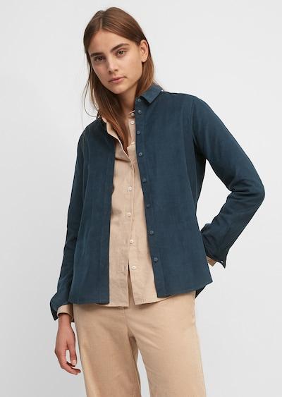 Marc O'Polo Bluse in nachtblau, Modelansicht