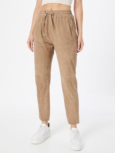 Pantaloni 'GIFT' OAKWOOD di colore beige chiaro, Visualizzazione modelli