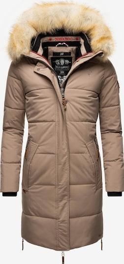 NAVAHOO Winter Coat 'Halina' in Cognac / Bronze / Taupe / Black, Item view