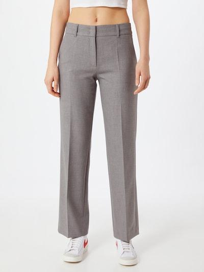 s.Oliver BLACK LABEL Spodnie w kolorze szarym, Podgląd na modelu(-ce)