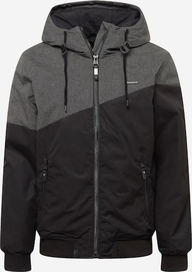 Ragwear Tussenjas 'WINGS' in de kleur Donkergrijs / Zwart, Productweergave