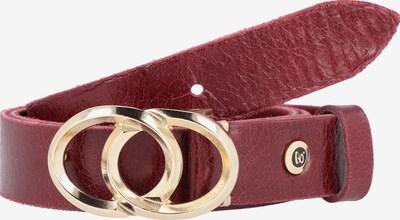 b.belt Handmade in Germany Gürtel in rot, Produktansicht