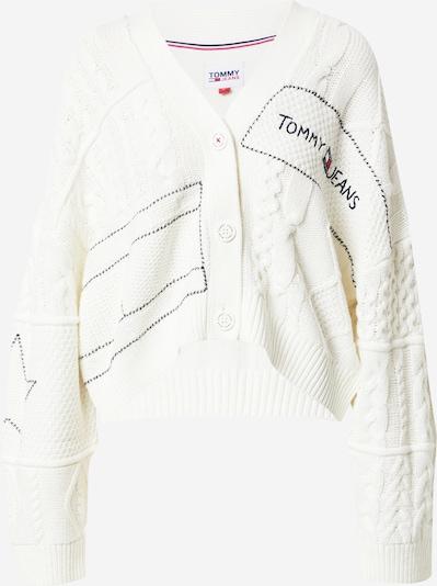 Tommy Jeans Kardigan w kolorze niebieska noc / czerwony / białym, Podgląd produktu