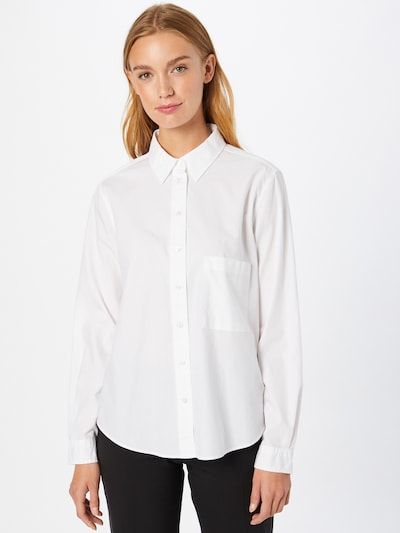 BOSS Casual Bluse 'Bemanew' u bijela, Prikaz modela