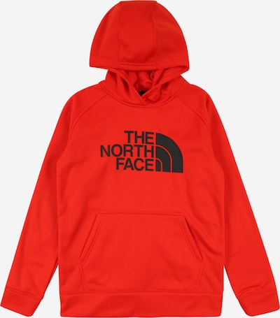 THE NORTH FACE Sportsweatshirt in feuerrot / schwarz, Produktansicht