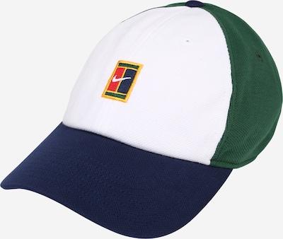 NIKE Спортна шапка 'Court Heritage86' в синьо / зелено / бяло, Преглед на продукта