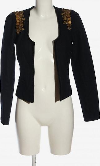 MAISON SCOTCH Woll-Blazer in S in gold / schwarz, Produktansicht