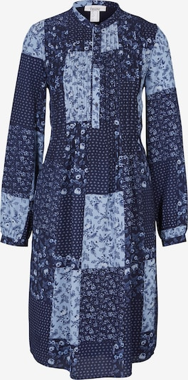 heine Robe-chemise en marine / bleu clair, Vue avec produit