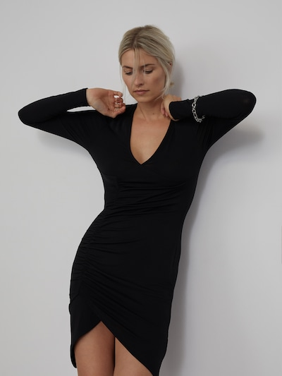 LeGer by Lena Gercke Kleid 'Miley' in schwarz, Modelansicht