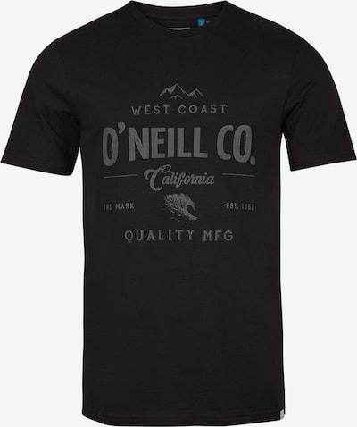 O'NEILL T-Krekls, krāsa - pelēks / melns, Preces skats