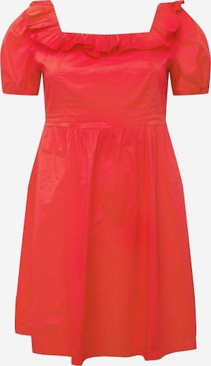 GLAMOROUS CURVE Vestido en rojo, Vista del producto