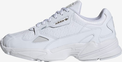 ADIDAS ORIGINALS Sneaker 'Falcon' in gelb / weiß, Produktansicht