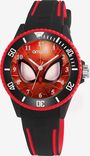 AM:PM Quarzuhr 'Marvel amazing Spider-Man watch' in schwarz, Produktansicht