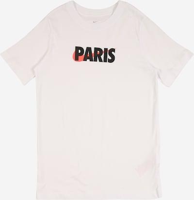 Nike Sportswear T-Shirt in koralle / schwarz / weiß, Produktansicht
