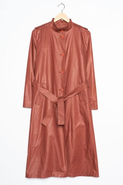 London Fog Trenchcoat in XL in merlot, Produktansicht