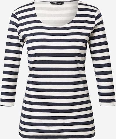 ZABAIONE Shirt 'Solea' in dunkelblau / weiß, Produktansicht