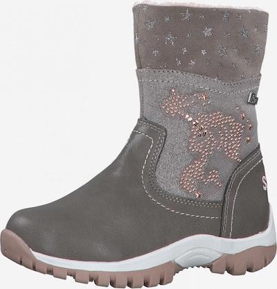 Sniego batai iš s.Oliver Junior , spalva - rausvai pilka / akmens, Prekių apžvalga