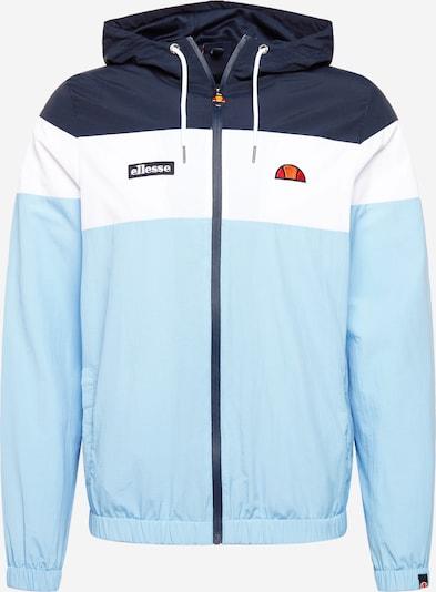 ELLESSE Jacke 'Mattar' in marine / hellblau / orange / hellrot / weiß, Produktansicht