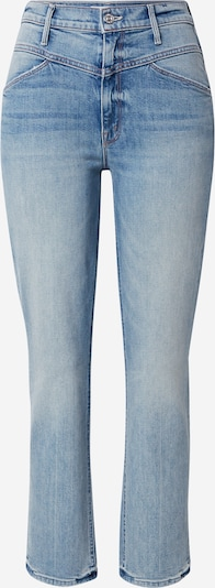 MOTHER Jean 'THE DAZZLER YOKE' en bleu denim, Vue avec produit