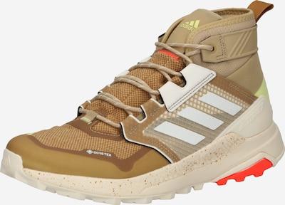 adidas Terrex Lage schoen in de kleur Sand / Limoen / Wit, Productweergave